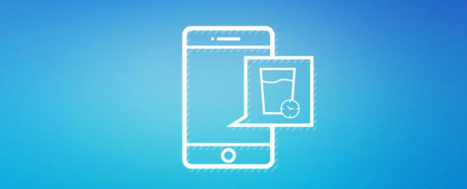 3 apps que te recordarán tomar agua a diario